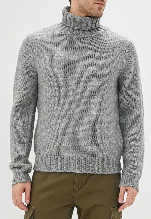 мужской свитер napapijri, серый