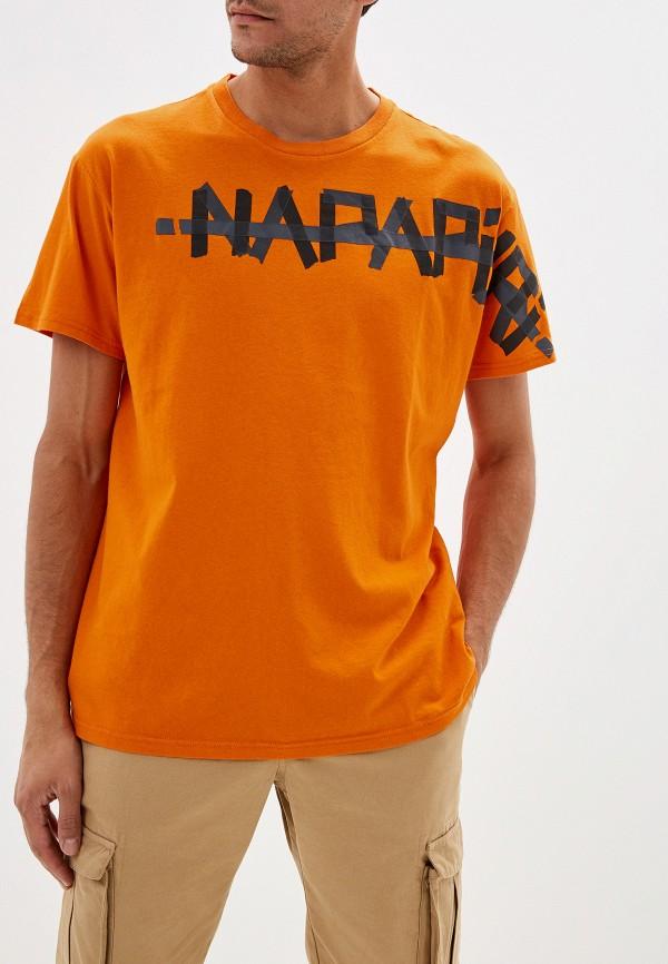 Футболка Napapijri Napapijri NA154EMFROK9 рюкзак napapijri napapijri na154buvsp67