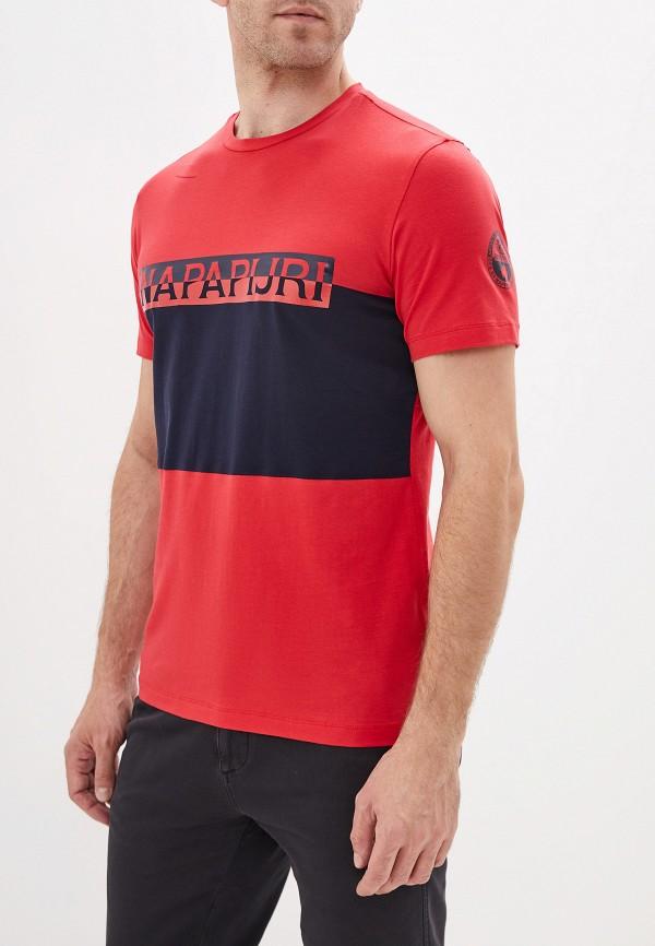 Футболка Napapijri Napapijri NA154EMGSRB3 napapijri футболка мужская