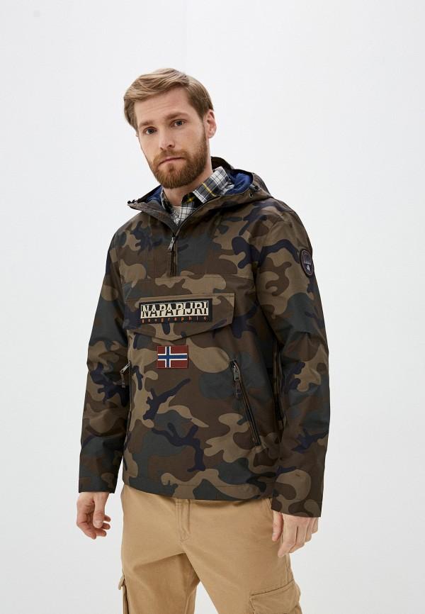 мужская легкие куртка napapijri, хаки