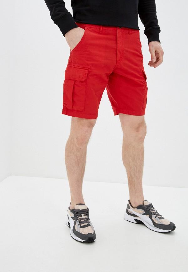 мужские повседневные шорты napapijri, красные