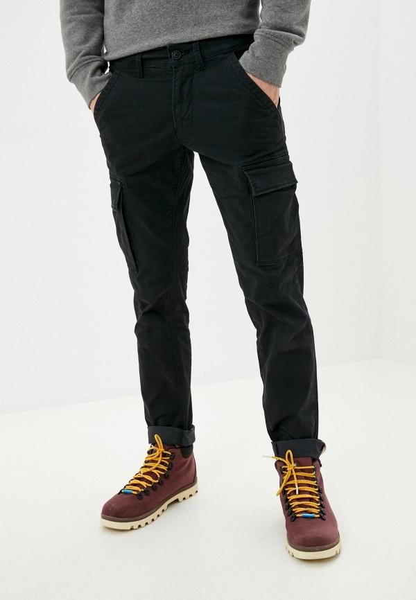 мужские брюки карго napapijri, черные