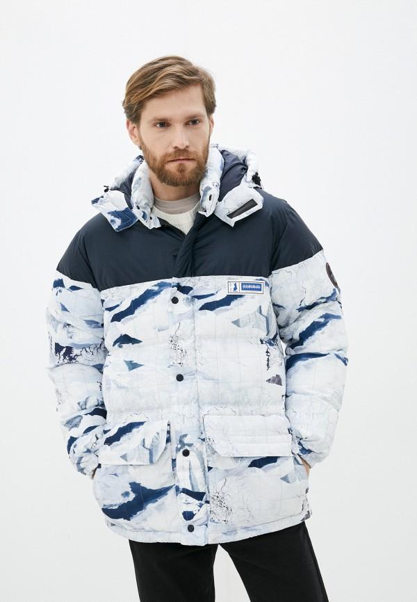 мужская утепленные куртка napapijri, разноцветная