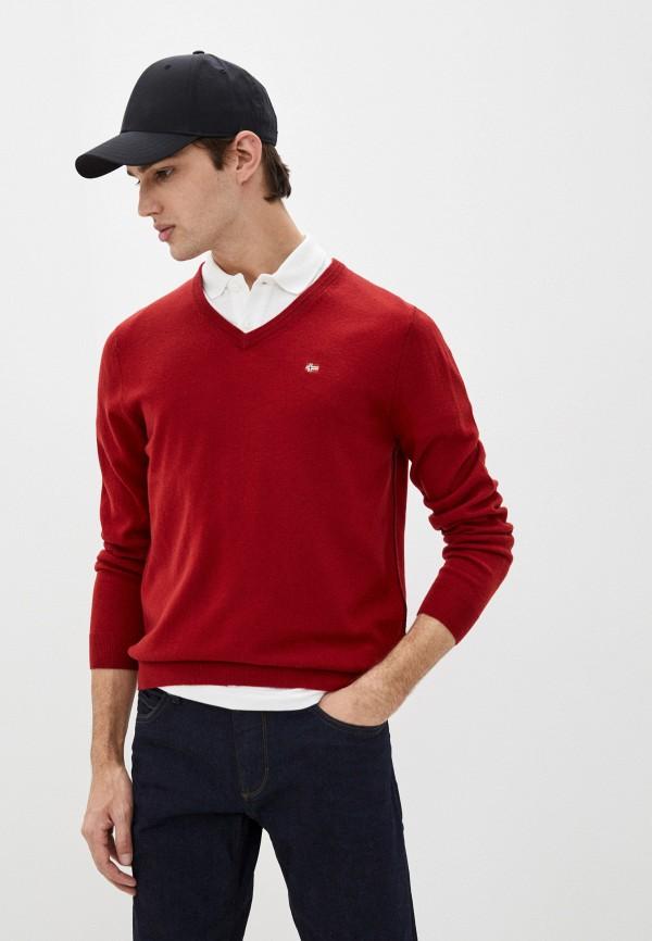 мужской пуловер napapijri, красный