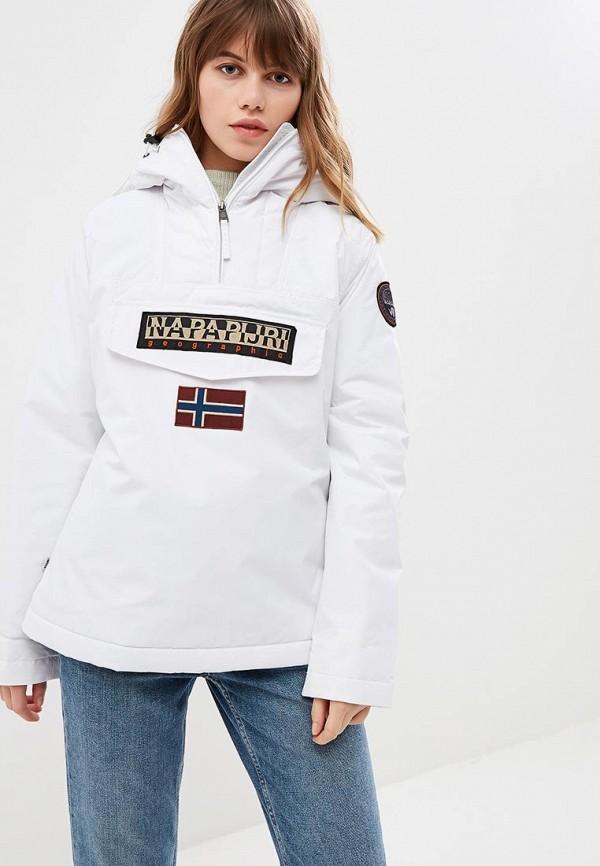 Купить Куртка утепленная Napapijri, RAINFOREST W WINT 2, na154ewciri9, белый, Осень-зима 2018/2019