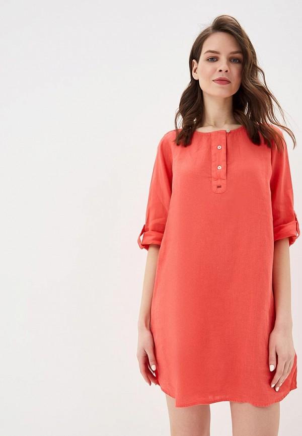 женское повседневные платье napapijri, красное