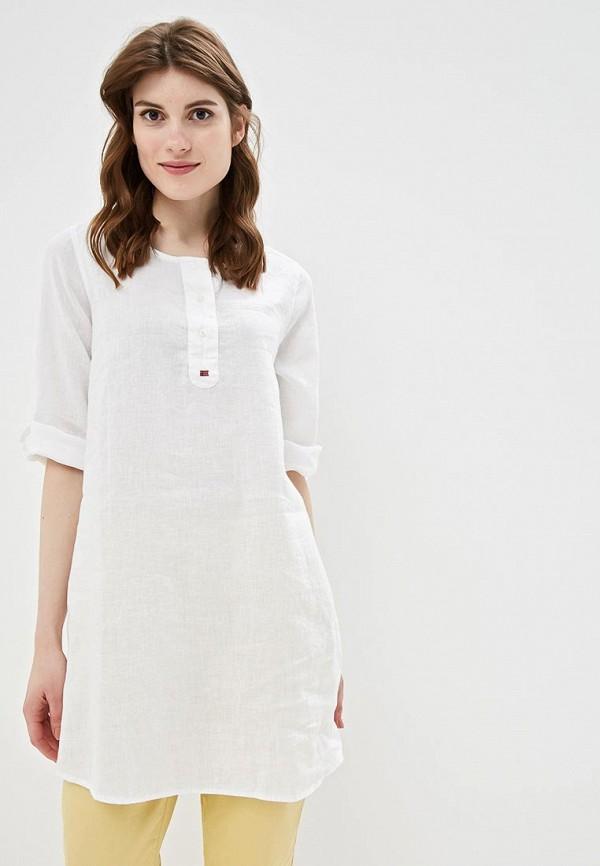 женское повседневные платье napapijri, белое