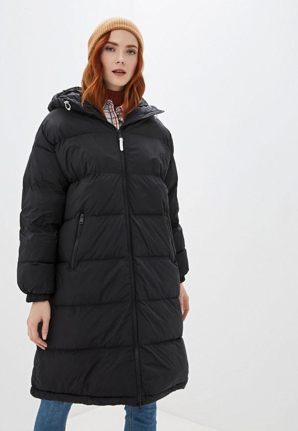 женская куртка napapijri, черная