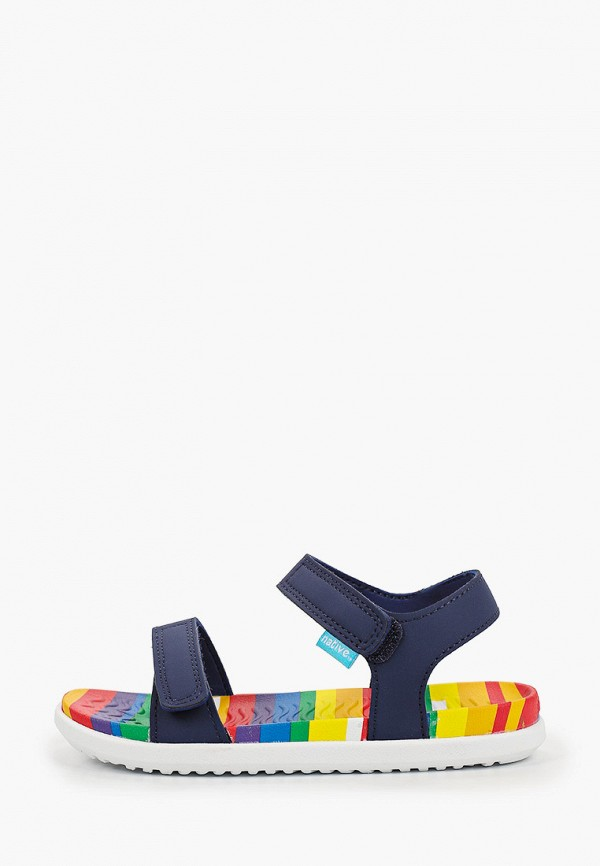 сандалии native для девочки, синие