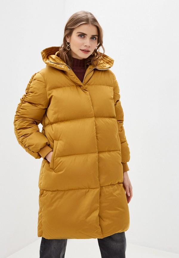 женская утепленные куртка 2nd day, золотая