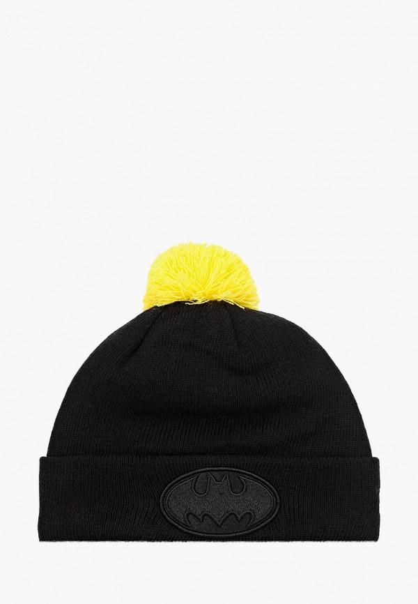 шапка new era для мальчика, черная