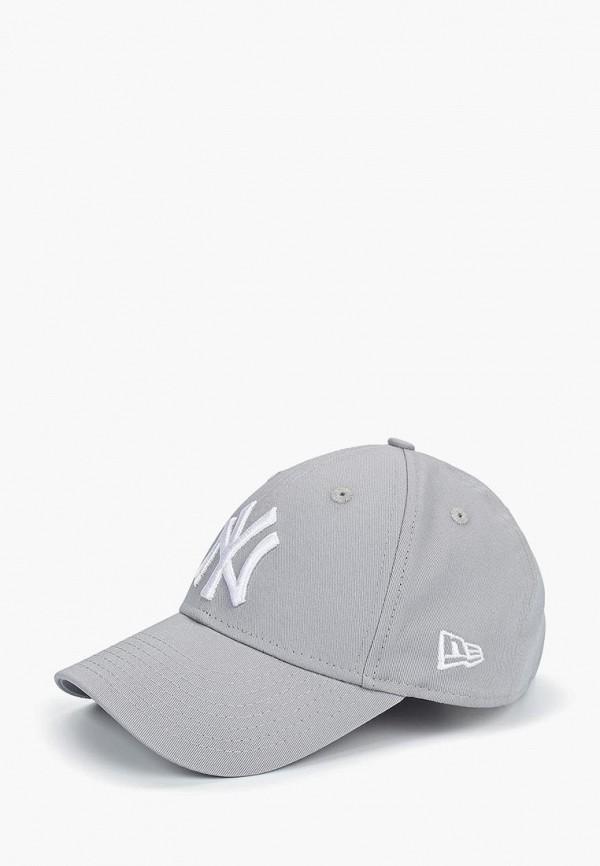бейсболка new era малыши, серая