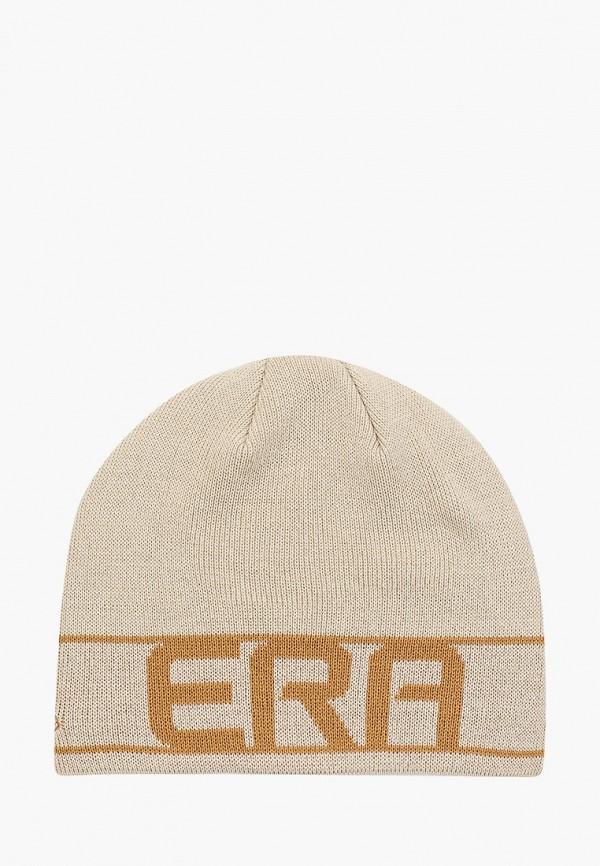 мужская шапка new era, бежевая