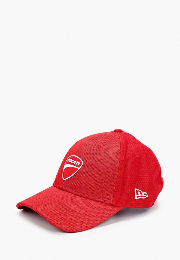 мужская бейсболка new era, красная