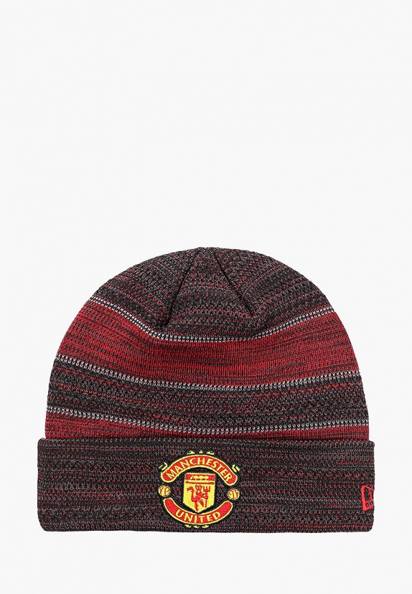 мужская шапка new era, бордовая