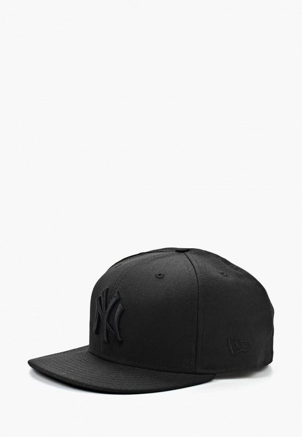 женская кепка new era, черная
