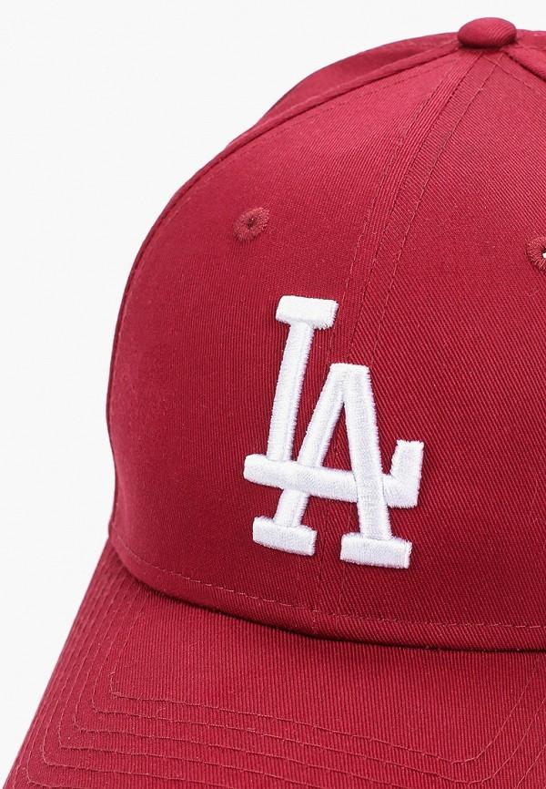 Фото 3 - Бейсболка New Era бордового цвета
