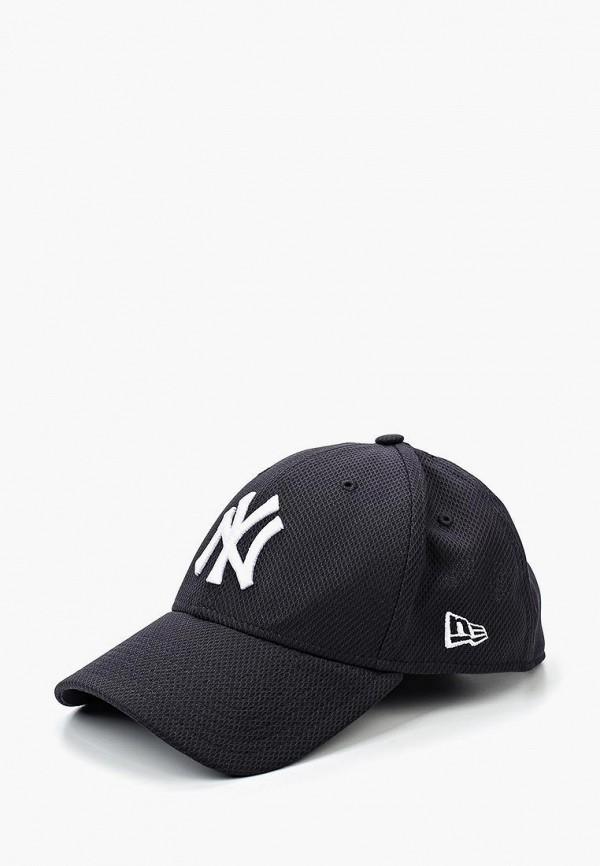 женская бейсболка new era, черная
