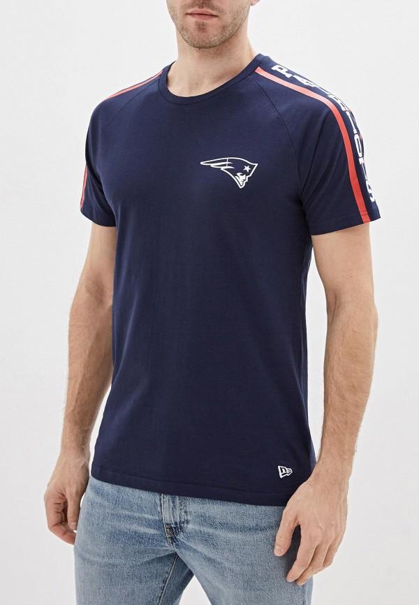 мужская спортивные футболка new era, синяя