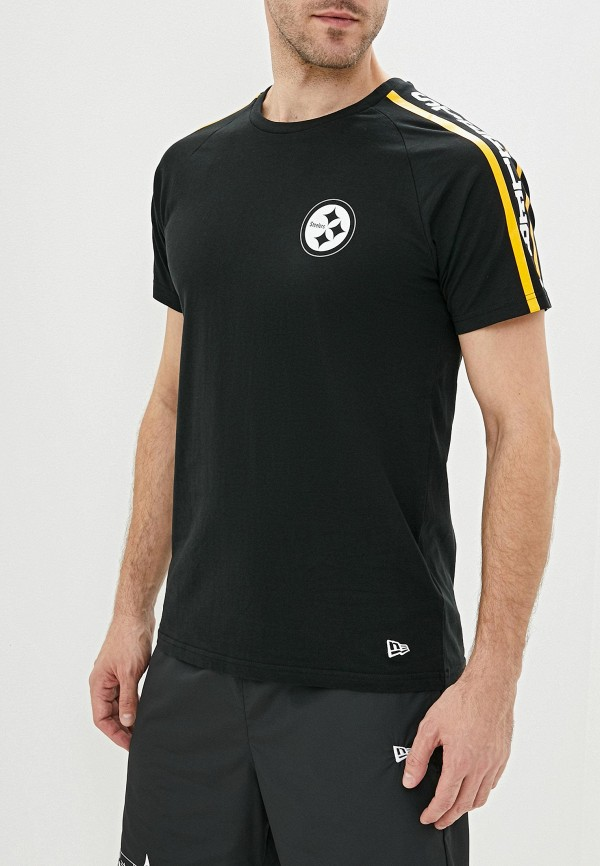 мужская спортивные футболка new era, черная