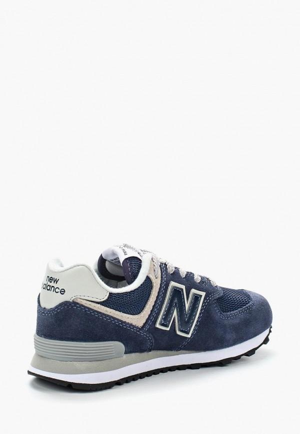 Фото 2 - Кроссовки New Balance синего цвета