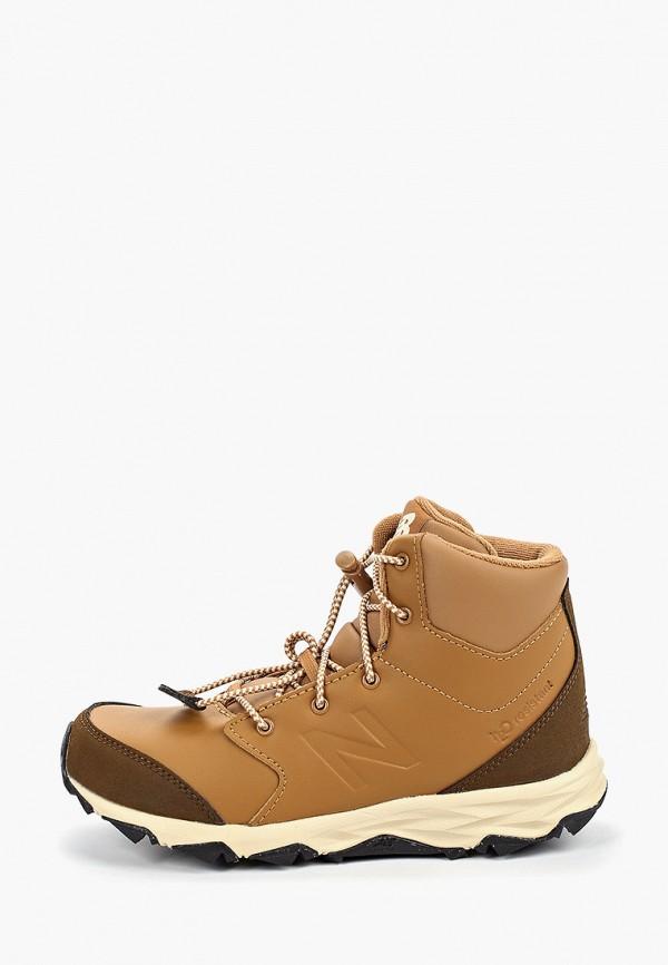ботинки new balance для мальчика, коричневые