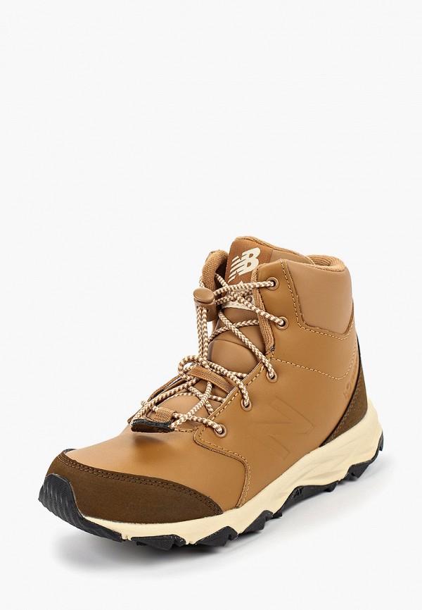 Фото 2 - Ботинки New Balance коричневого цвета