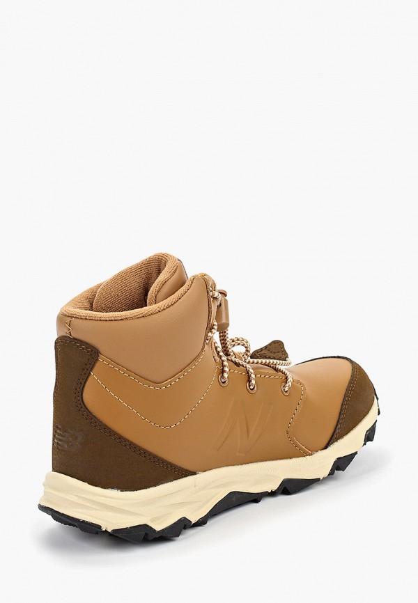Фото 3 - Ботинки New Balance коричневого цвета