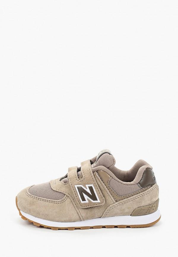 кроссовки new balance для мальчика, бежевые