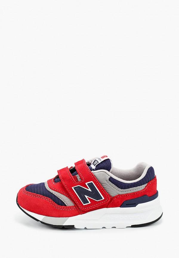 кроссовки new balance для мальчика, красные