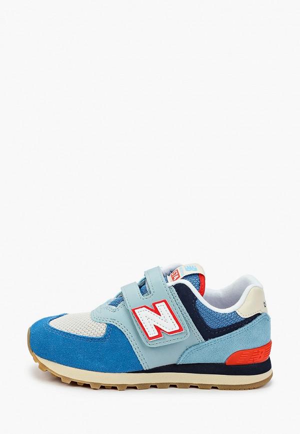 кроссовки new balance для мальчика, голубые