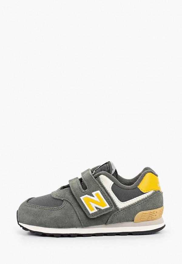 кроссовки new balance для мальчика, зеленые