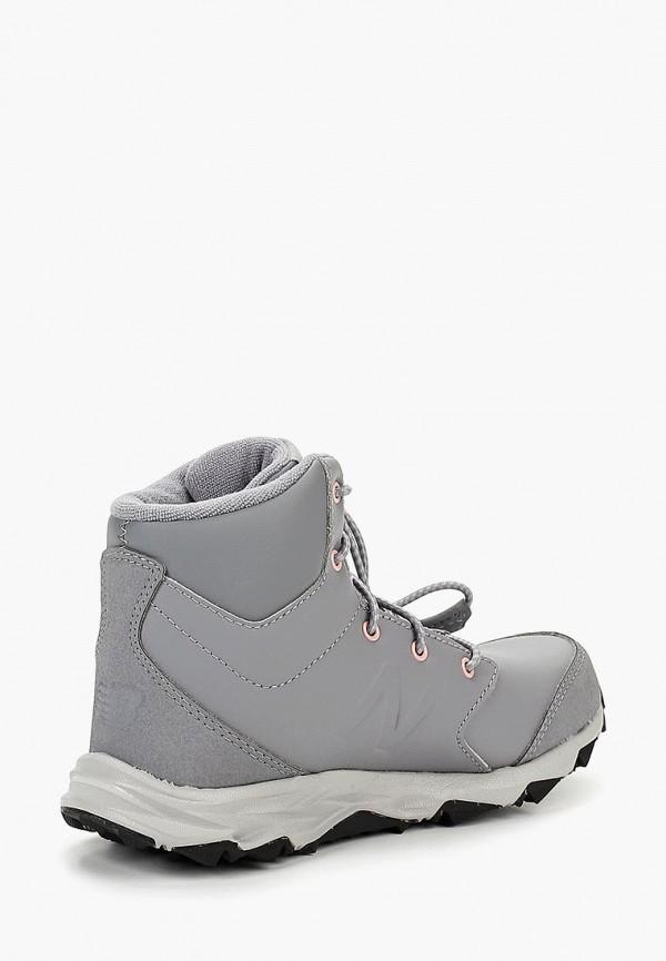 Фото 2 - Ботинки New Balance серого цвета