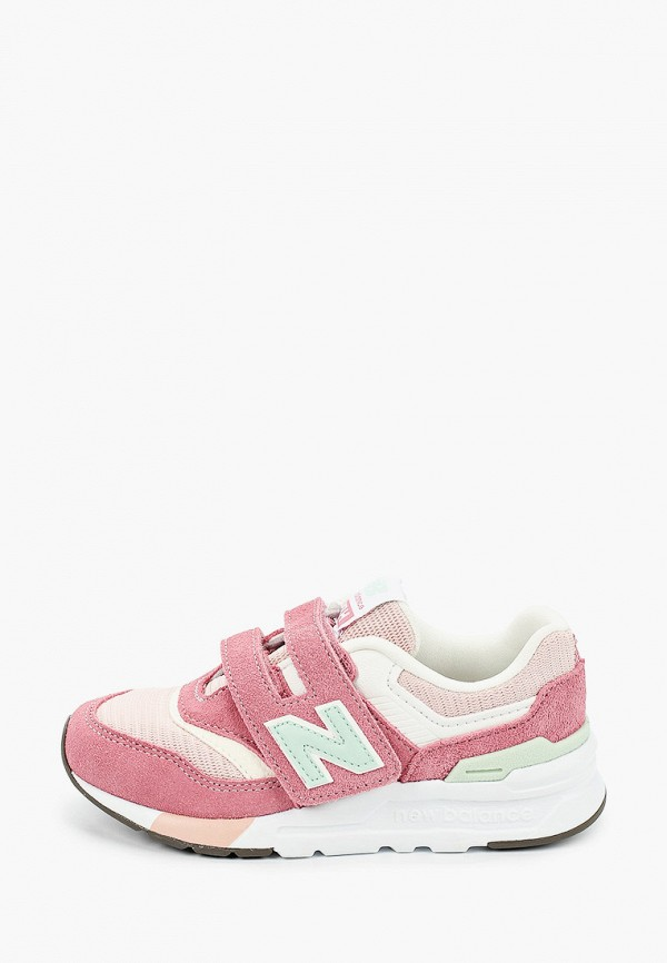 кроссовки new balance для девочки, розовые