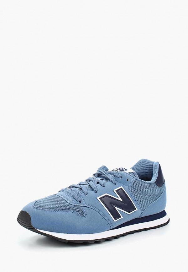 Купить Кроссовки New Balance, 500, NE007AMABGW7, синий, Весна-лето 2018