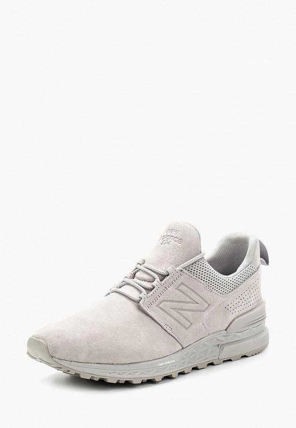 Купить Кроссовки New Balance, 574 Decon, NE007AMAGGE3, серый, Весна-лето 2018