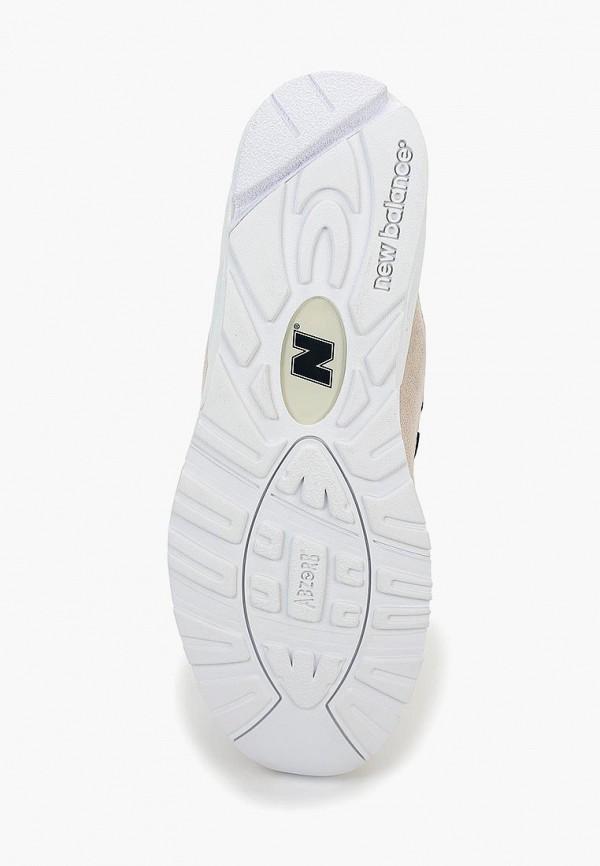 Фото 3 - мужские кроссовки New Balance бежевого цвета