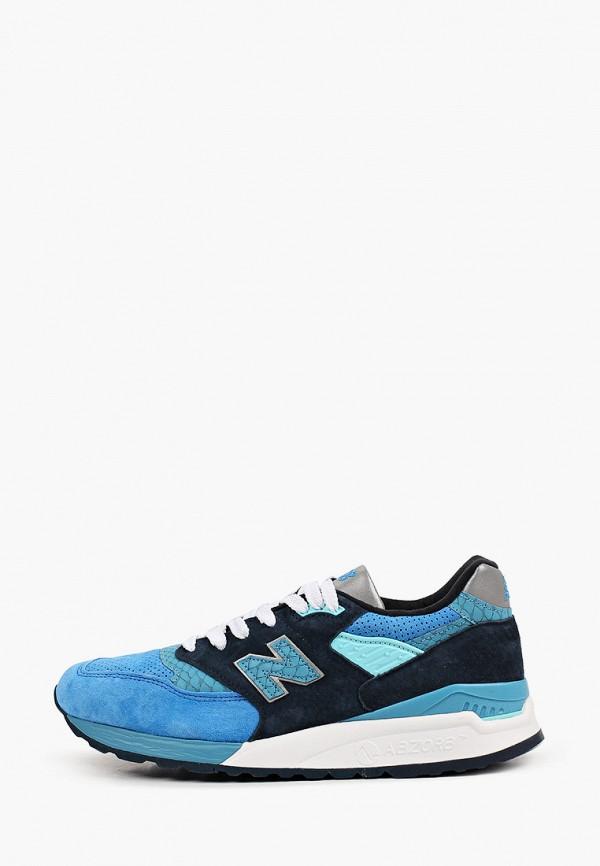 мужские кроссовки new balance, голубые