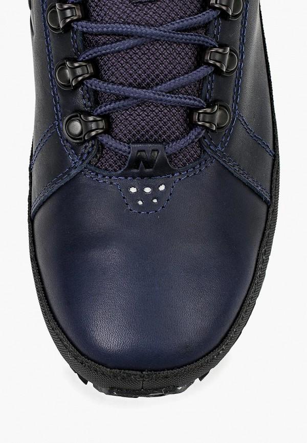 Фото 4 - Кроссовки New Balance синего цвета