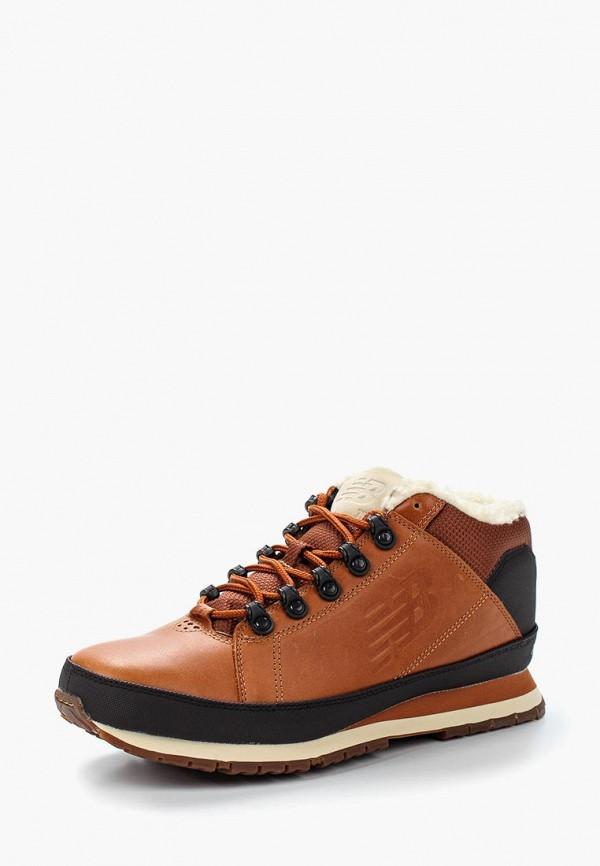 мужские ботинки new balance, коричневые