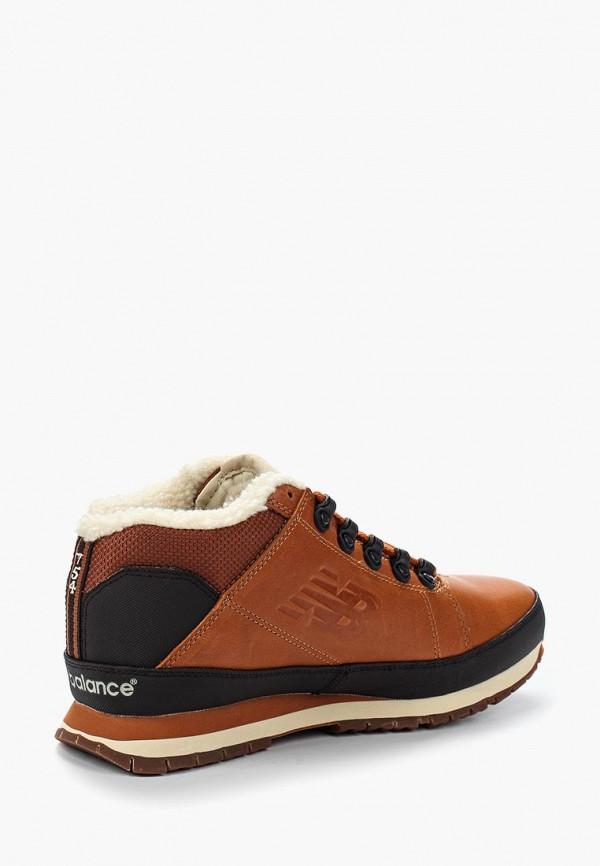 Фото 2 - мужские ботинки и полуботинки New Balance коричневого цвета