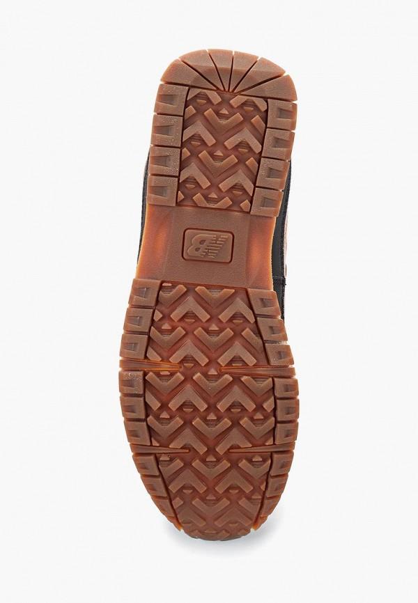 Фото 3 - мужские ботинки и полуботинки New Balance коричневого цвета