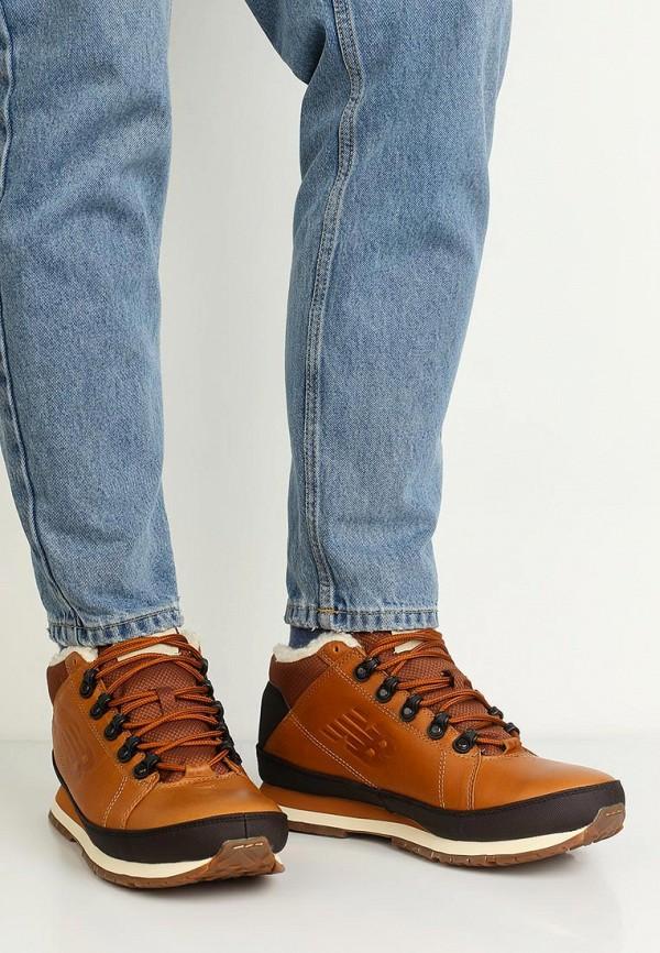 Фото 6 - мужские ботинки и полуботинки New Balance коричневого цвета
