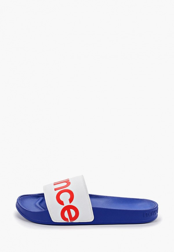 Фото - Сланцы New Balance синего цвета