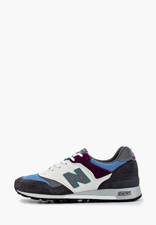 Фото - мужские кроссовки New Balance серого цвета