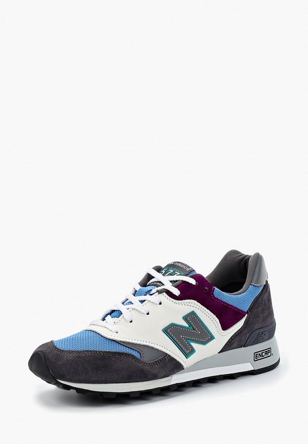 Фото 2 - мужские кроссовки New Balance серого цвета
