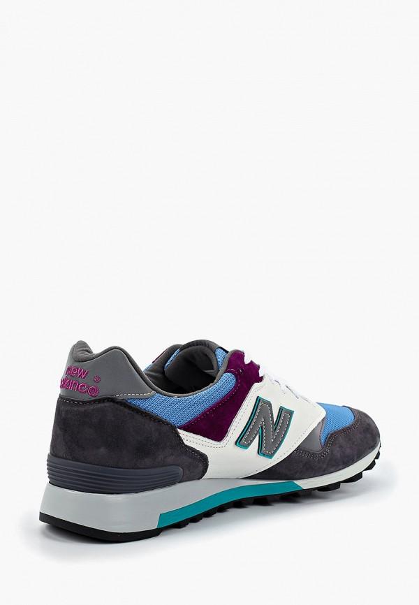 Фото 3 - мужские кроссовки New Balance серого цвета