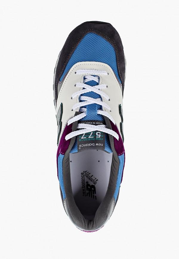 Фото 4 - мужские кроссовки New Balance серого цвета