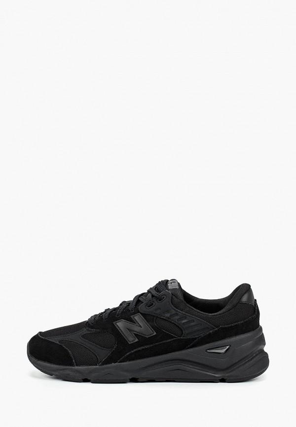 Фото - мужские кроссовки New Balance черного цвета