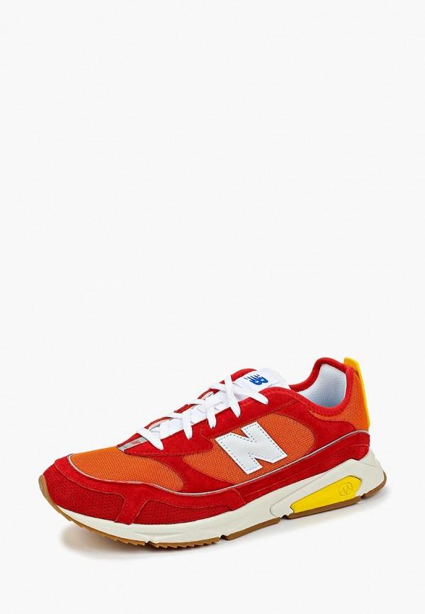Фото 2 - мужские кроссовки New Balance красного цвета
